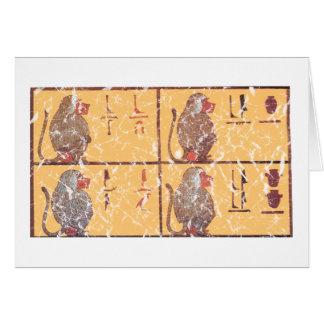 Carte babouins