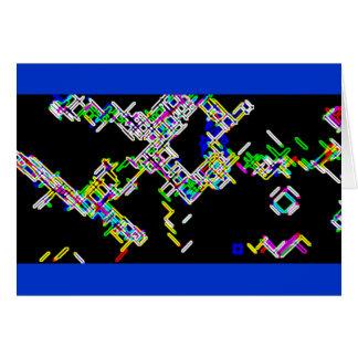 Carte Bactéries de robot