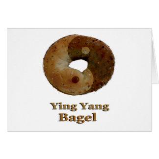 Carte Bagel de Ying Yang