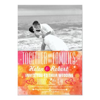 Carte Baiser de mariage de plage