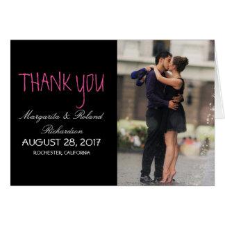 Carte Baiser roman de couples dans la fontaine/Merci