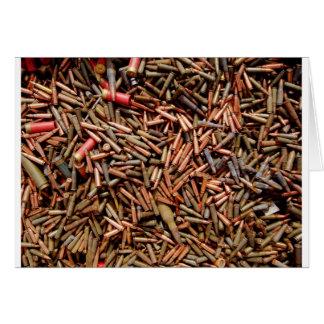 Carte Balles, munitions
