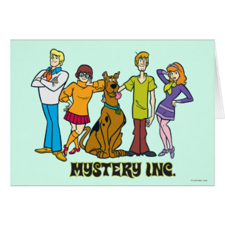 Carte Bande entière 12 Mystery Inc