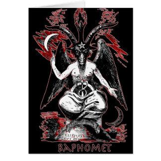 Carte Baphomet