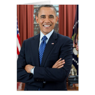 Carte Barack Obama