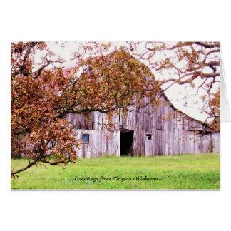 Carte barn~ de monticules de ~Old
