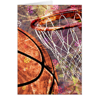 Carte Basket-ball Girly sale