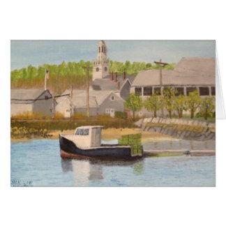 Carte Bateau de pêche - Massachusetts de Rockport