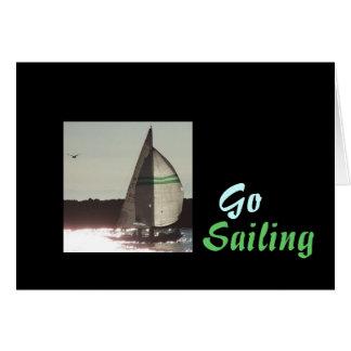 Carte Bateaux la Californie de port d'océan de voiliers