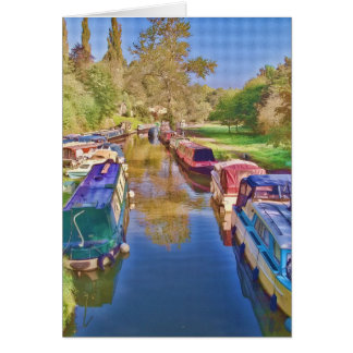 Carte Bateaux sur le canal de Somerset