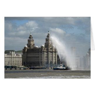 Carte Bâtiment de foie - Liverpool