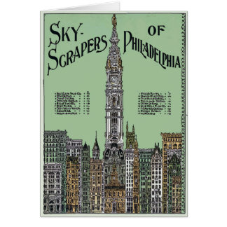 Carte Bâtiments 1896 de Philadelphie