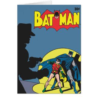 Carte Batman comique - avec Robin