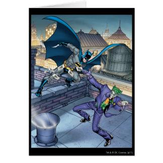 Carte Batman et joker - bataille