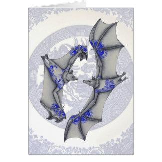 Carte Battes bleues de saule