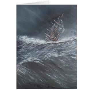 Carte Beagle de voie HMP dans une tempête outre du Cap