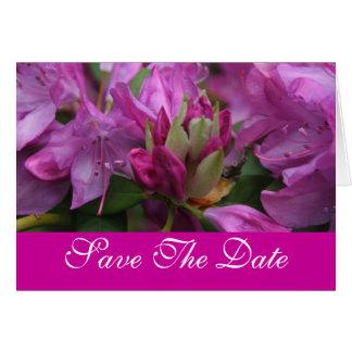 Carte Beauté de floraison de ressort