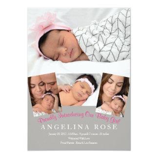 Carte Bébé bienvenu