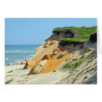 Carte Belle dune chez Wellfleet