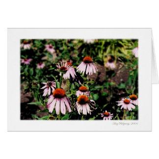 Carte Belles fleurs 2