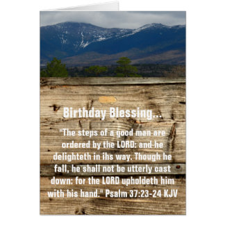 Carte Bénédiction d'anniversaire