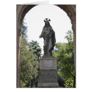 Carte BÉNI SOYEZ LE PÈRE : Florence Italie
