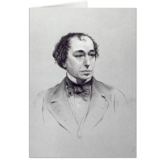 Carte Benjamin Disraeli, ęr comte Beaconsfield