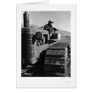 Carte Benji Iguchi sur le tracteur 1943