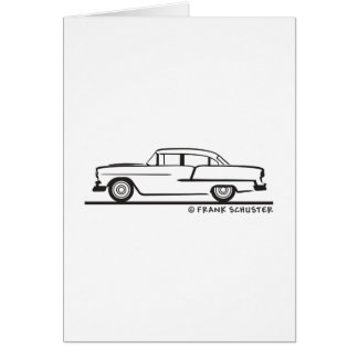 Carte Berline 1955 de Chevy