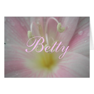 Carte Betty