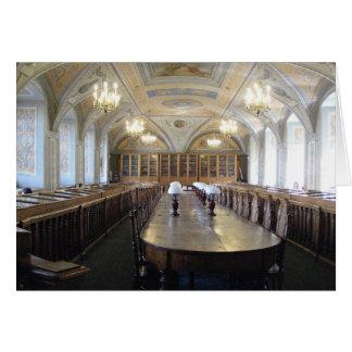 Carte Bibliothèque universitaire de Vilnius - LITHUANIE