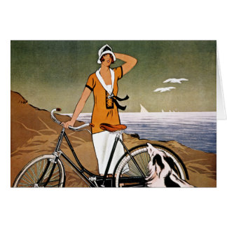 Carte Bicyclette Ad, 1925
