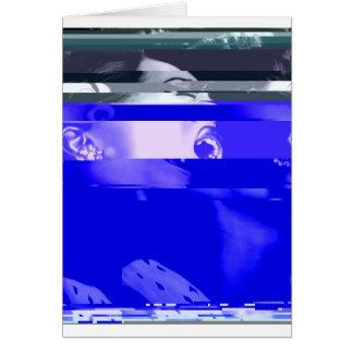 Carte Billie dans le bleu