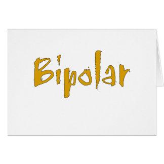 Carte Bipolaire orange
