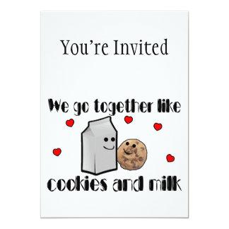 Carte Biscuits et amour de lait