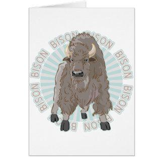 Carte Bison classique
