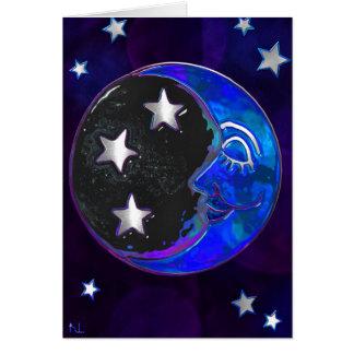 Carte BLANC folklorique de Bohème céleste de Momments