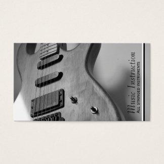 Carte blanche noire d'industrie musicale de