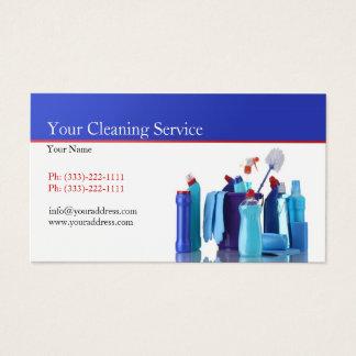 Carte blanche simple d'entreprise de services de