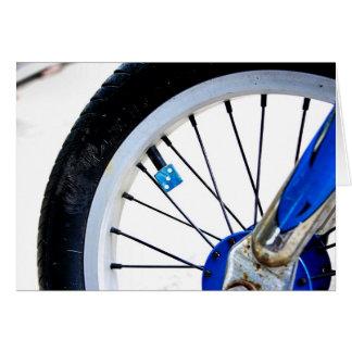 Carte bleue de roue