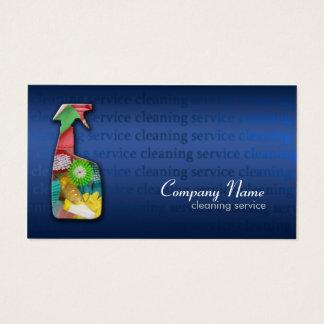 Carte bleue simple d'entreprise de services de