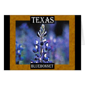 Carte Bluebonnet de Texas