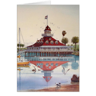 CARTE BOATHOUSE DE CORONADO, CORONADO, LA CALIFORNIE