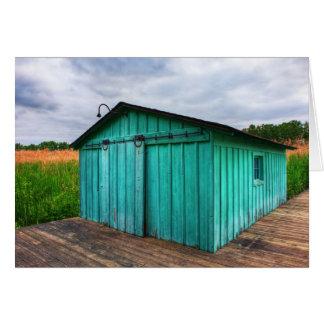 Carte Boathouse de marécage