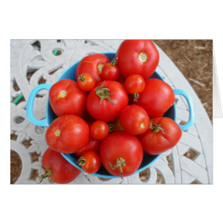 Carte Bol de tomates