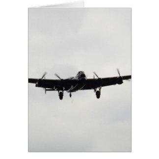 Carte Bombardier lourd d'Avro Lancaster