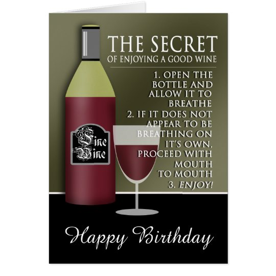 anniversaire bon vin