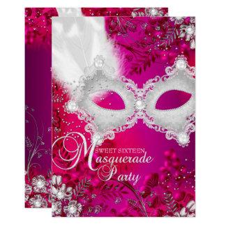 Carte Bonbon 16 à mascarade de masque d'étincelle de