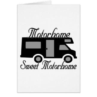 Carte Bonbon Motorhome à Motorhome