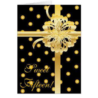 Carte Bonbon quinze ! Invitation-Personnaliser